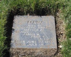 Mary <I>Fitzgerald</I> Abbay