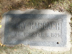 Mary <I>Ellicot</I> Harbach
