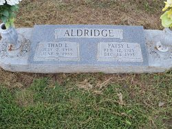 Thad L. Aldridge