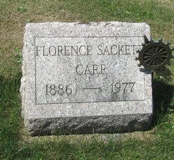 Florence Delilah <I>Sackett</I> Carr
