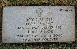 Roy A Sinor