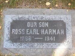 Ross Earl Harman