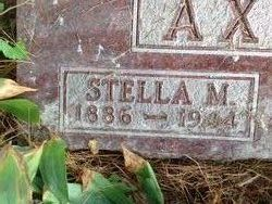 Stella M. <I>Silver</I> Axtell