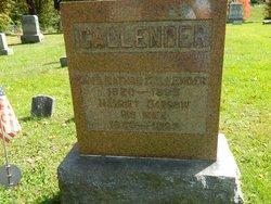 Harriet <I>Darrow</I> Callender