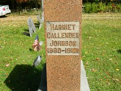 Harriet <I>Callender</I> Johnson