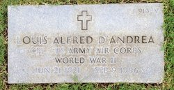 CPL Louis Alfred D'Andrea