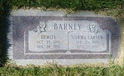 Dewite Barney