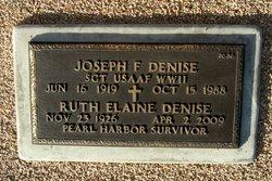 Joseph F Denise