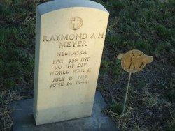 PFC Raymond A. H. Meyer