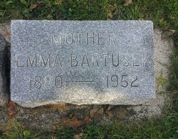 Emma <I>Schultz</I> Bartusek