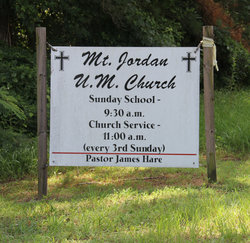 Mount Jordan Church Cemetery