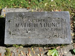 Marie Henrietta <I>Herrmann</I> Young