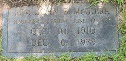 Rev John B. McGuirk