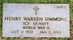 Henry Warren Simmons