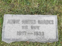 Annie <I>Hawks</I> Barnes