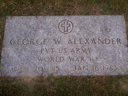George Wilfred Alexander