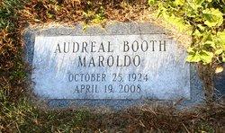 Audreal <I>Booth</I> Maroldo