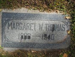 Margaret Wilson Thomas