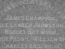 Lieut James Champion