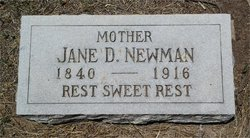 Jane Davis <I>Bennett</I> Newman