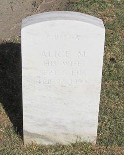 Alice M Ferris
