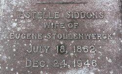 Estelle S <I>Siddons</I> Stollenwerck
