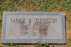 Sankie <I>Edwards</I> Ellington