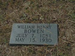 """William Henry """"Bill"""" Bowen"""