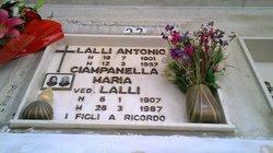 Maria <I>Ciampanella</I> Lalli