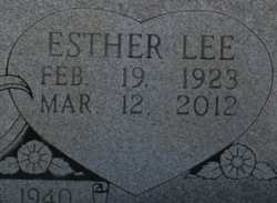 Esther Lee <I>Campbell</I> Knight