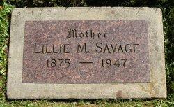 Lillie May <I>Thomas</I> Savage