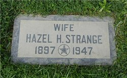 Hazel Harriet <I>Clapp</I> Strange