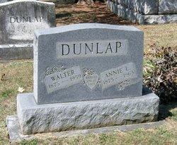 "Anna Lee ""Annie"" <I>Elliott</I> Dunlap"