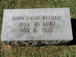 Col John David Weeden