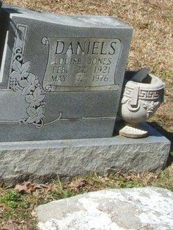 Louise <I>Jones</I> Daniels