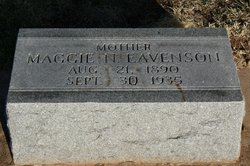 Maggie N <I>Baldwin</I> Eavenson