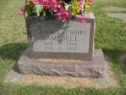 Mary C. <I>Haire</I> Campbell