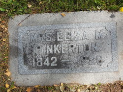 Eliza Murilla <I>Robinson</I> Pinkerton