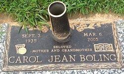 Carol J <I>Strickland</I> Boling