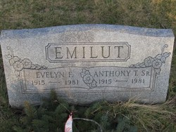 Evelyn F <I>Burns</I> Emilut
