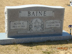 Alvin (Gordon) Baine