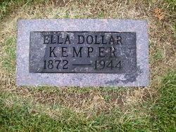 Ella <I>Dollar</I> Kemper