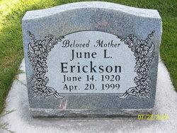 June <I>Lowe</I> Erickson