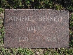 Winifred <I>Bennett</I> Bartel