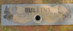 """Deborah K """"Nannio-O"""" <I>Fulcher</I> Bullins"""