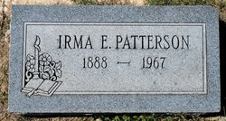 Irma Elizabeth <I>Cottingham</I> Patterson