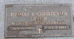 "Thomas E. ""Chris"" Christensen"
