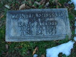 Cornelia F <I>Sheppard</I> Allred
