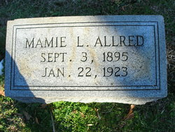 Mamie Louvinia Allred