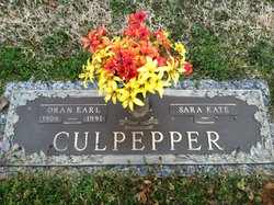 Oran Earl Culpepper, Sr